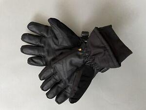 Carhartt Men's W.P. Waterproof Insulated Knit Cuff Glove Large Black