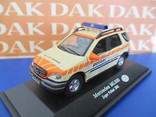 Die cast 1/43 Modellino Auto Police Polizei Mercedes ML 320 Switzerland 2002