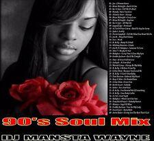 DJ MANSTA WAYNE CLASSIC 90'S R&B MIX CD