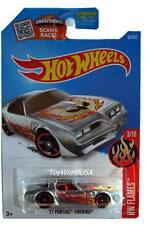 2016 Hot Wheels #93 HW Flames '77 Pontiac Firebird ZAMAC