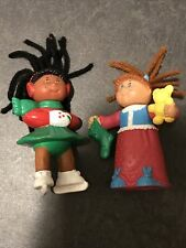 Lot Of 2 1992 O.A.A Cabbage patch poseable Figures