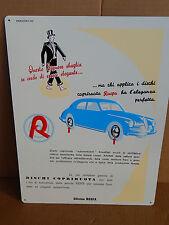 INSEGNA 1952 RUSPA RIPRODUZIONE ODIERNA BORCHIE PIAGGIO VESPA ALFA ROMEO 6C