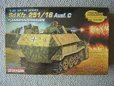 Tamiya 1/35 SdKfz.251/16 ausf.C Flammpanzerwagen Halftrack (with 3 figures)