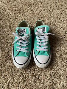 Converse All Star Mint Green. Unisex.  Men's 5 Women's 7