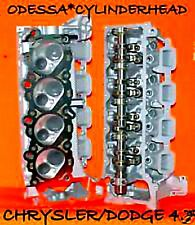 2 CHRYSLER DODGE JEEP CHEROKEE DAKOTA 4.7 SOHC CYLINDER HEADS REBUILT 99-04
