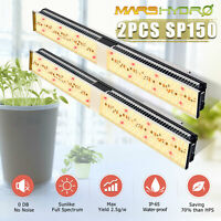 2PCS Mars Hydro SP150 LED Grow Light Full Spectrum Indoor Plant for All Stages