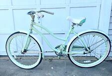 Huffy Cranbrook 26 inch Cruiser Bike - Mint Green - Perfect Beach Beater!