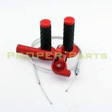 CNC Twist throttle Housing  Handle Grip Throttle Cable Pit Dirt Bike Quad ATV