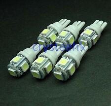 6 x T10 194,168,2825, 5 x 5050 SMD LED White Super Bright Car Lights Lamp Bulb