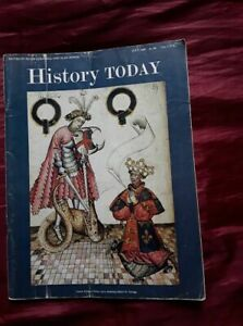 HISTORY TODAY JULY-1968-GARTER-KING-OF-ARMS-1413-KNEELING-BEFORE- St. George