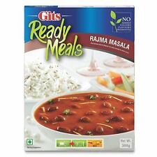Gits Ready to Eat Meal Rajma Masala Kidney Beans With Curry 285 gm x 3