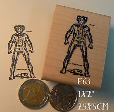 P63 Cyber-man rubber stamp