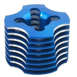 HSP R003 Cooling Head Blue for 1/10 VX18 Off-Road Buggy Truck Wind Hobby NIP RC