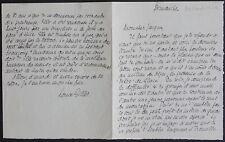 Historien Louis GILLET autographe