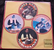 WORLD MUSIC~DEBABRATA CHAUDHURI/FAIYAZ KHAN Sitar Music~Meditations LP