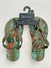Ipanema Boy's Flip Flop Sandals Army Green ( US 11/12 )
