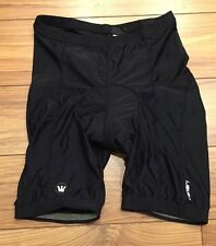 CANARI Mens Cycling Shorts Padded LARGE L Black