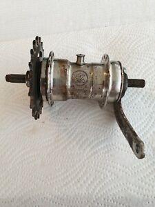 Original Torpedo System Sachs D.R.P. Fahrradnabe mit Torpedo Bremsanker 1934