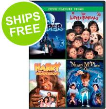Casper / Little Rascals / Harry & The Hendersons / Nanny McPhee (DVD) NEW, Kids