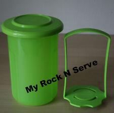 Tupperware Mini Round Pick-A-Deli 2 cups Green New