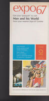 Expo 67 Montreal Get Your Passport to Visit Man & His World Brochure
