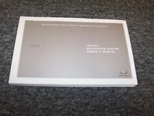 2006 Infiniti QX56 M35 M45 FX35 G35 Navigation System Owner Operator Manual