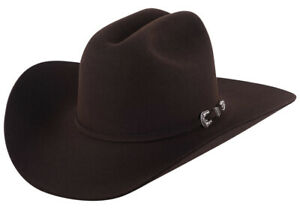Stetson® 6X Skyline Chocolate Felt Hat With Free Hat Brush