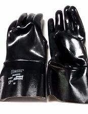 """1 Pair - Ansell """"Neox"""" - 12"""" Neoprene Smooth Gloves - Chemical - Large - Usa"""