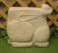 Bunny Rabbit Animal Bench Leg Latex Fiberglass Production Mold Concrete Plaster