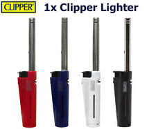 CLIPPER TUBE Refillable BBQ Outdoor Cooker  Lock Utility Lighters pack of 4
