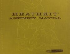 HEATHKIT W-4AM amplifier FULL ASSEMBLY & OPERATION MANUAL digital Manual