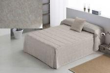 Edredon  con volantes para cama de 150,135,180 cortina  Pilar  clasico