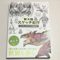 Art Book for Monster Hunter World Editor's Sketch Artworks from Japan