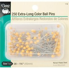 Dritz Extra Long Color Ball Pins - 082449