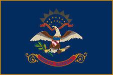 North Dakota state flag 4' x 6'