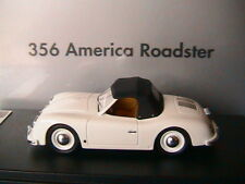 PORSCHE 356 AMERICA ROADSTER 1952 WHITE LOOKSMART WAP02000318 1/43 BLANCHE