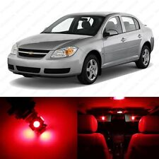 10 x Red LED Interior Light Package For 2005- 2010 Chevrolet Chevy Cobalt + TOOL