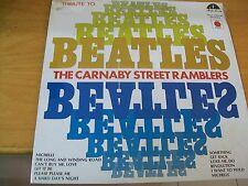 CARNABY STREET RAMBLERS TRIBUTE TO BEATLES  LP RARO SIGILLATO