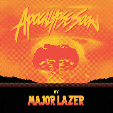 "Major Lazer Apocalypse Soon 12"" ORANGE VINYL LP Record diplo! pharrell williams+"