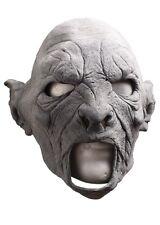 Epic Armoury LARP Brutaler Ork-Maske Unbemalt Fasching Halloween Gummimaske
