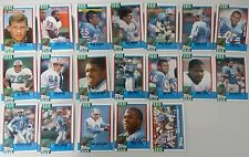 1990 Topps Houston Oilers Team Set of 19 Football Cards