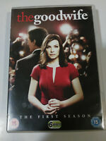 THE GOOD WIFE THE COMPLETE FIRST SEASON 6 X DVD REGION 2 ENGLISH &