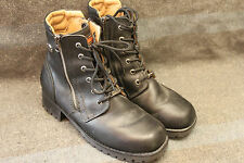 Excellent Alysa Harley Davidson Women's Leather Motorcycle Boots 84178 Size 9.5