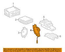 GM OEM Stereo Audio Radio-Rear Speaker 15756874