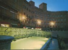 Cartolina ANTICA-SIENA-Gaia-Fontana e Palazzo Sansedoni -