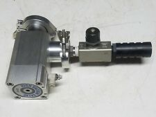 SMC XLA-40 High Vacuum Valve AS4000 NOR-CAL HANDLE