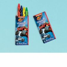 12 Blaze & The Monster Machines Children's Party Gifts Favours Loot Crayons