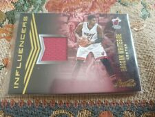2016-17 Studio Hassan Whiteside Influencers Jersey card - Miami Heat