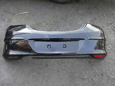 VAUXHALL ASTRA MK5 3 DOOR 2007-2009 REAR BUMPER SAPPHIRE BLACK Z20R DAMAGED