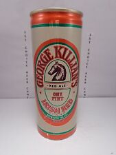 GEORGE KILLIANS RED ALE 16oz ALUMINUM PULL TAB BEER CAN BY COORS   HORSE